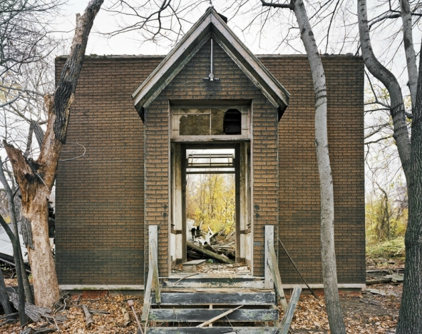 Church, North Brother Island, New York
