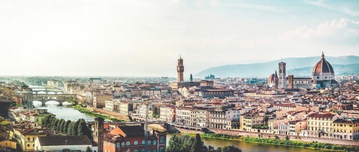 panorama florence italie
