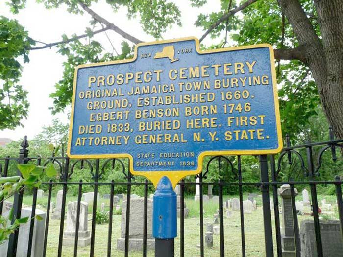 prospect cemetery new ork