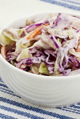 recette coleslaw à l'américaine