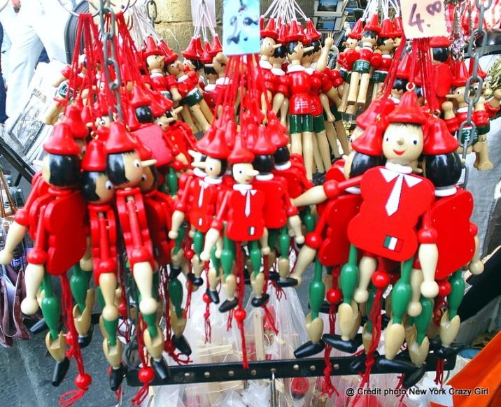 marionnettes Pinocchio Italie