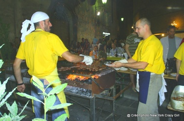 barbecue village Sienne