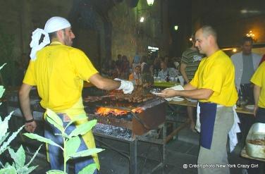 barbecue village Sienne