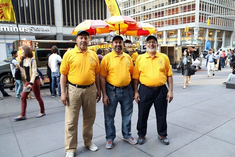 the halal guys new york food kebab food truck