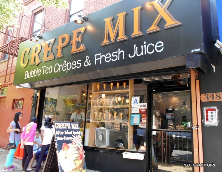 crepe mix brooklyn park slope