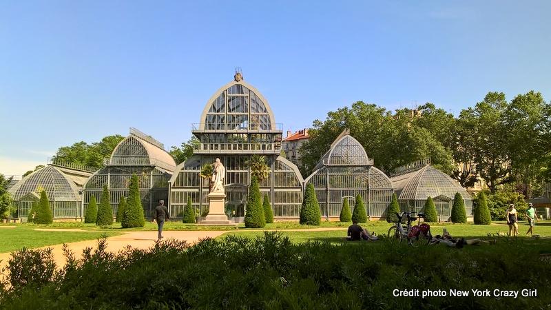 parc tête d'or lyon serres botaniques