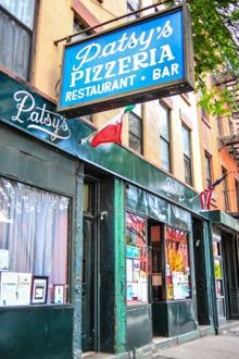 patsy's pizza new york