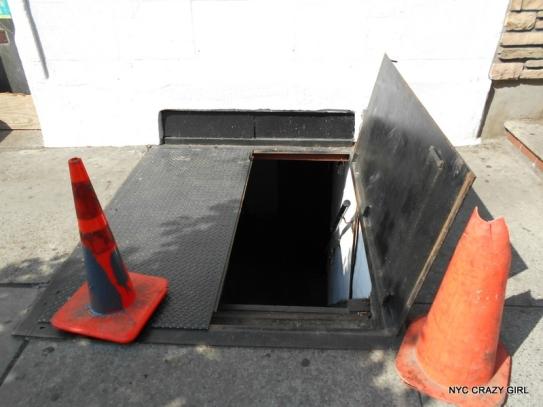 trappe new york sidewalk