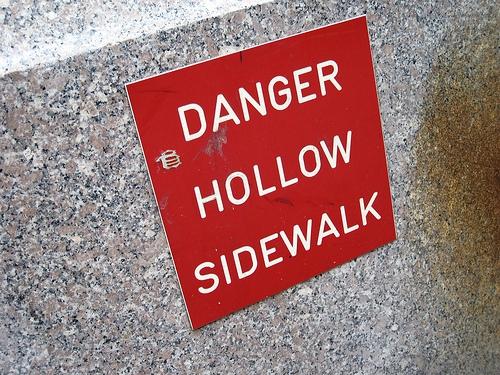 trottoirs ajourés new york sidewalk