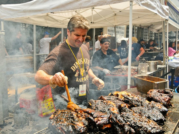 barbecue block party new york food porn