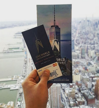 billet ticket observatoire one world trade center new york