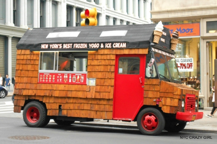 camions de glaces new york