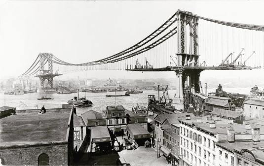 construction manhattan bridge new york 1903 (3)