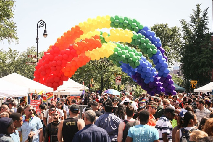 gay pride new york LGBT parade défilé