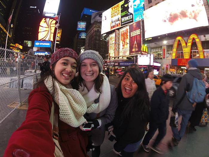new york entre filles copines amies
