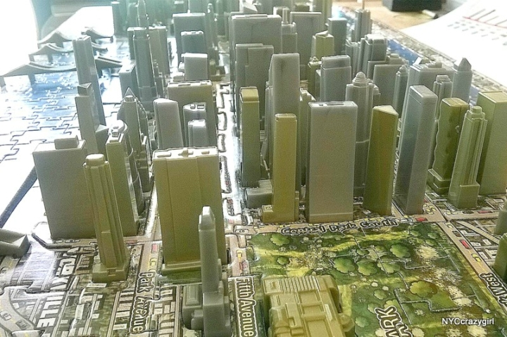 puzzle 3d new york 4d