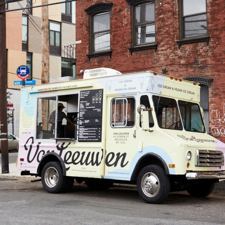van leeuwen glace food truck new york