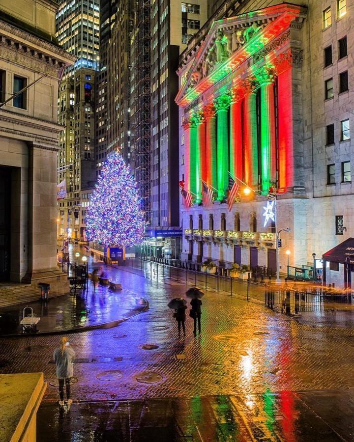 décoration noël new york