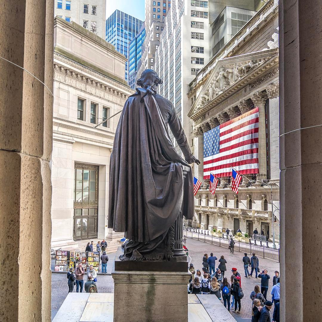 federal hall national monument wall street manhattan