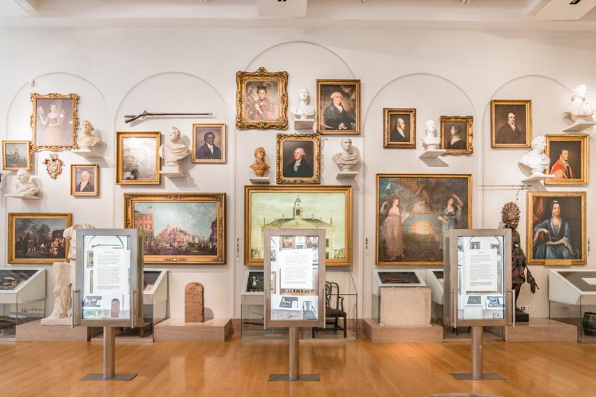 new york historical society musée bibliothèque