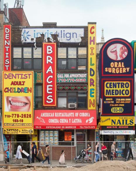 new york panneau street