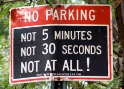 no parking brooklyn