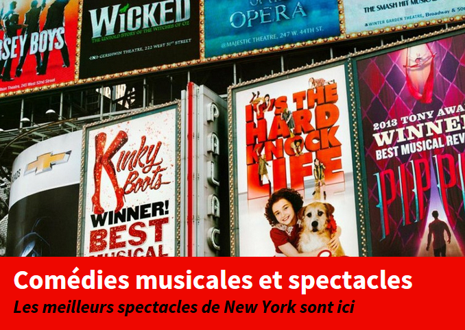 comédie musicale promo new york