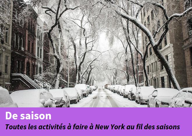 hiver à new york