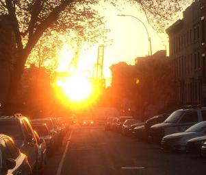 coucher de soleil red hook brooklyn new york (2)