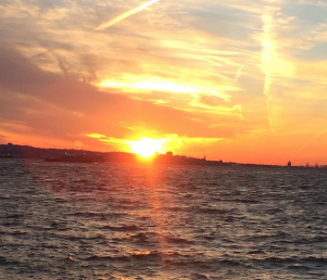 coucher de soleil red hook brooklyn new york (3)
