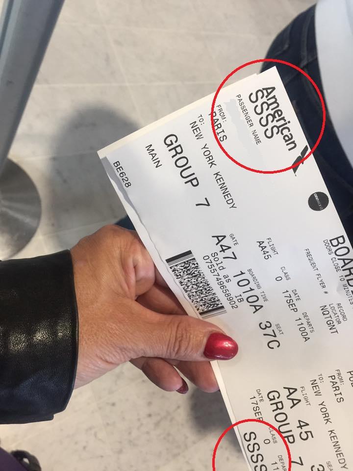 fiché s terrorisme billet avion douane aéroport