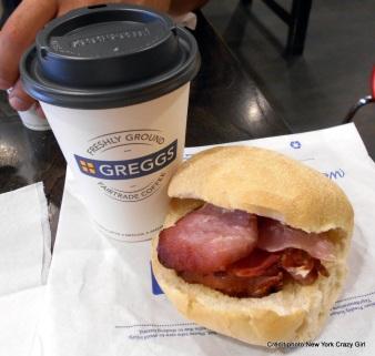 Londres bacon gregg's