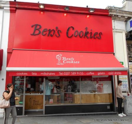 Londres ben's cookies