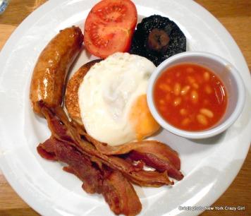 Londres petit-déjeuner anglais