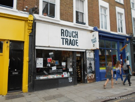 Londres rough trade disquaire (2)