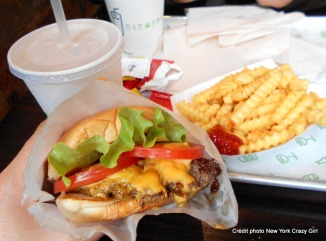 Londres shake shack burger