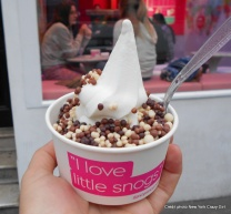 londres snogg glace yaourt