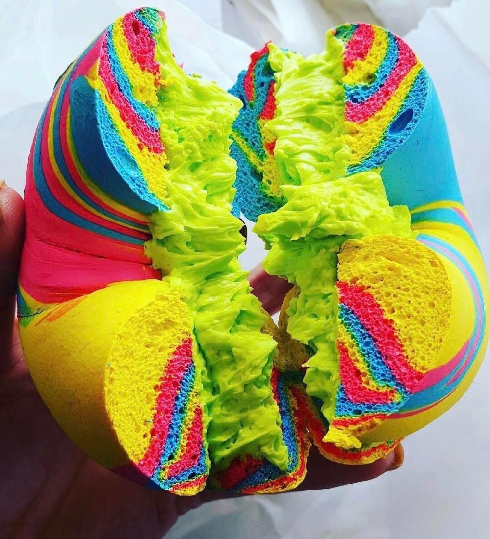 rainbow bagel new york williamsburg