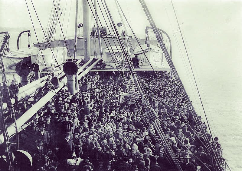 ss batavia migrants ellis island new york