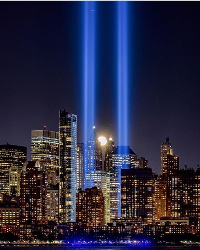 tribute in light new york manhattan 11 septembre attentat twin towers (3)