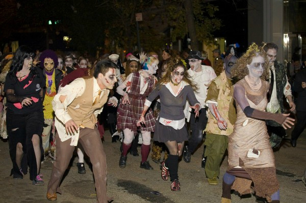 halloween new york fantôme Halloween Extravaganza & procession of Ghouls
