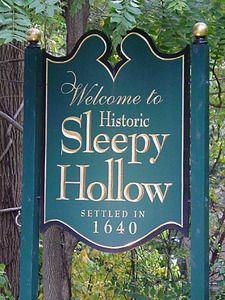 sleepy hollow halloween new york fantôme