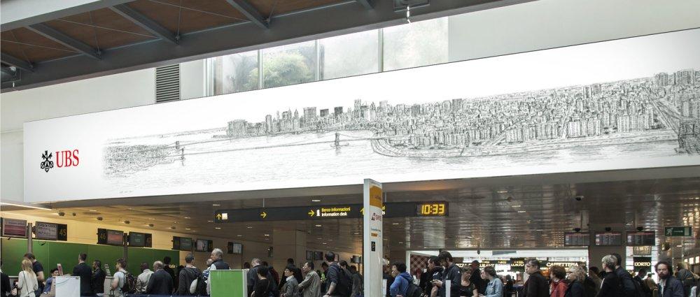 stephen wiltshire jfk airport new york