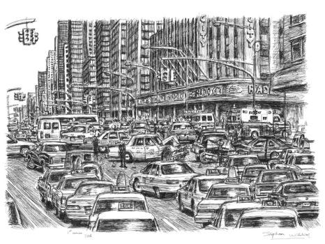 stephen wiltshire sketch new york (3)