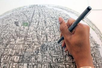 stephen wiltshire sketch new york (4)