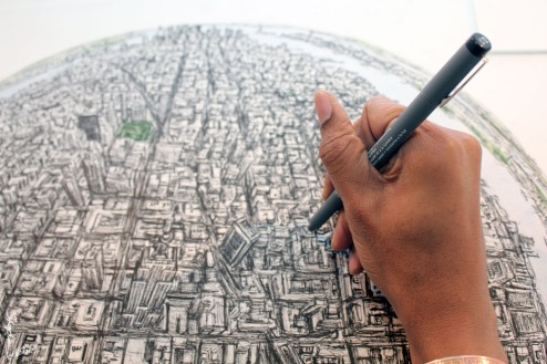 stephen wiltshire sketch new york (4)