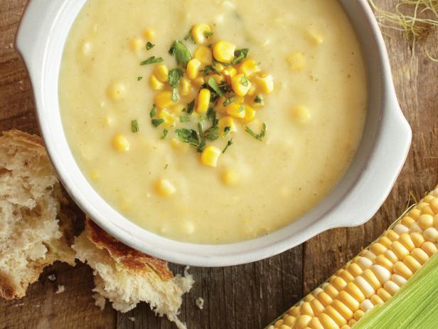 corn chowder recette
