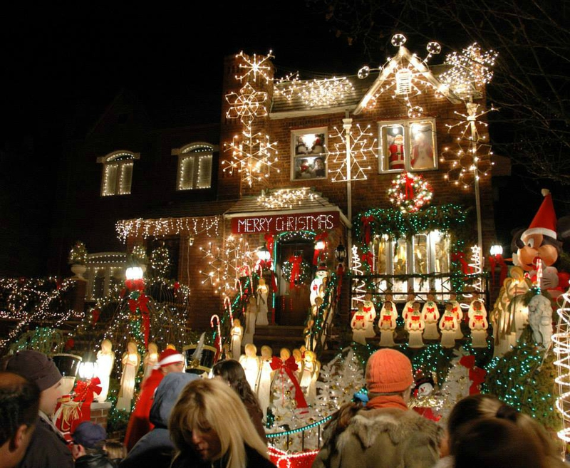 Dyker Heights village noël brooklyn new york (1)