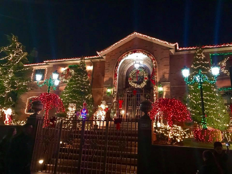 Dyker Heights village noël brooklyn new york (10)