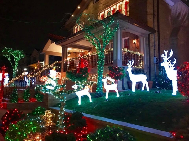 Dyker Heights village noël brooklyn new york (5)